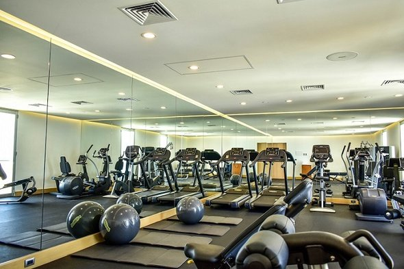 Fitness center nyx hotel cancun